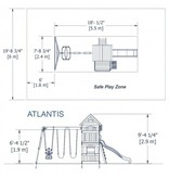 Backyard Discovery Atlantic speeltoren