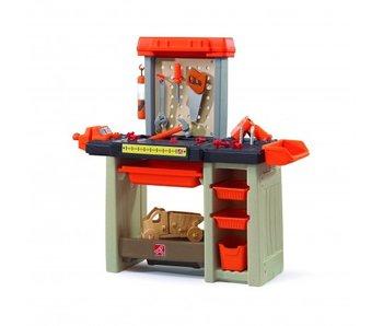 Step2 Werkbank - Handyman Workbench Orange