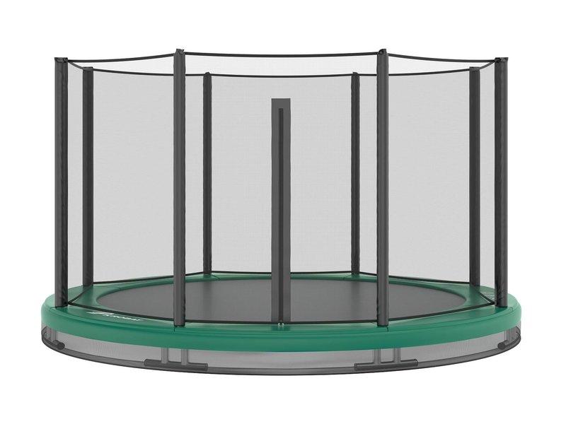 Akrobat Orbit Inground Trampoline 244 Groen (incl. veiligheidsnet)