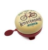 Volare Amsterdam Fietsbel Ride that Bike Vanille 58 mm