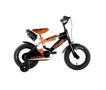 Volare Sportivo Neon 12 inch Zwart Oranje