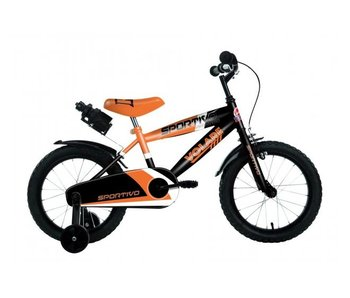 Volare Sportivo Neon 14 inch Oranje Zwart
