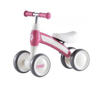 Volare Q-Play Cutey Ride On loopfiets roze