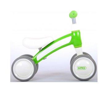 Volare Q-Play Cutey Ride On loopfiets groen
