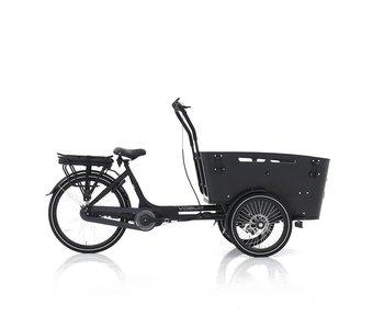 Vogue E-bike bakfiets Carry Middenmotor zwart