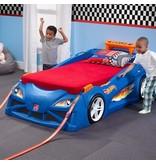 Step2 Bed - Hot Wheels - Race Car Blauw