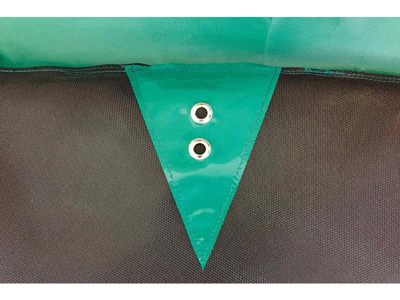 Akrobat Orbit Above ground Trampoline 335x244 Groen (incl. veiligheidsnet)