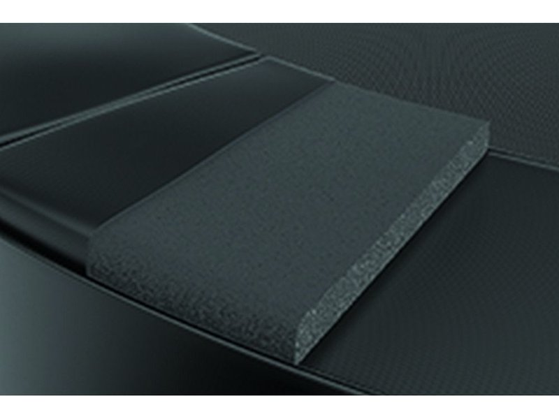 Akrobat Primus Premium Flat to the ground Trampoline 305 Zwart (excl. veiligheidsnet)