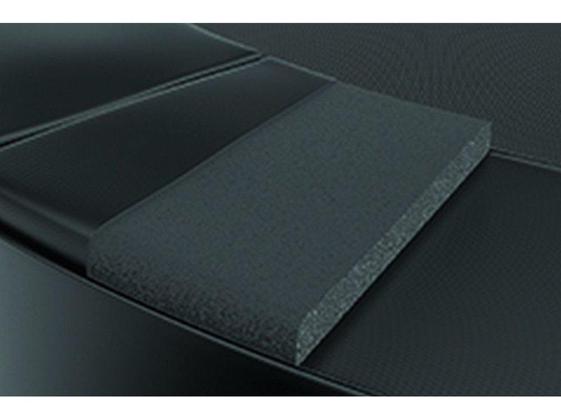 Akrobat Primus Premium Flat to the ground Trampoline 430 Zwart (excl. veiligheidsnet)