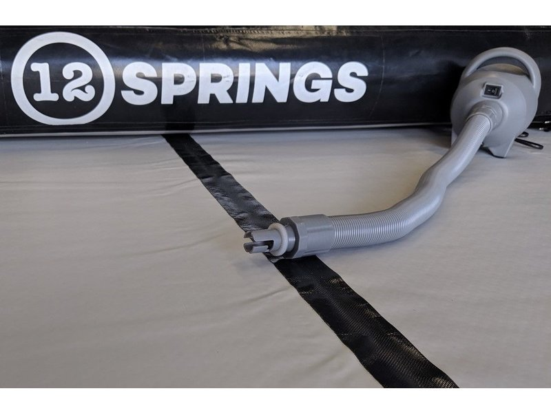 12SPRINGS Airtracks 300 W100 Standaard x2 (incl. zwarte triangle connector)