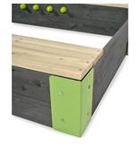 EXIT Aksent houten zandbak 200x140cm