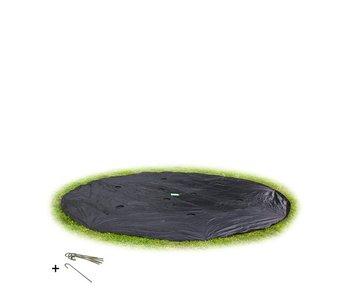 EXIT Groundlevel trampoline afdekhoes 366cm