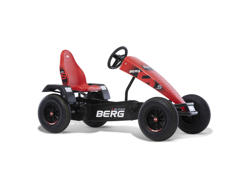 BERG B.Super Red XXL-E-BFR skelter