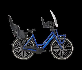 BSP Dolce Vita E middenmotor familiefiets zomerblauw glans