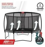 BERG Champion Regular Trampoline 430 Grijs Levels (incl. veiligheidsnet comfort)