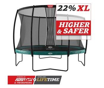 BERG Elite Regular 430 Groen + veiligheidsnet deluxe xl