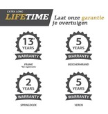 BERG Elite Regular Trampoline 430 Grijs Levels (incl. veiligheidsnet deluxe xl)