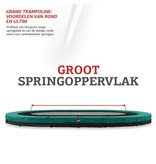 BERG Grand Champion Regular Trampoline 350x250 Groen (incl. veiligheidsnet deluxe)