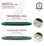 BERG Grand Champion Regular Trampoline 470x310 Groen (incl. veiligheidsnet deluxe)