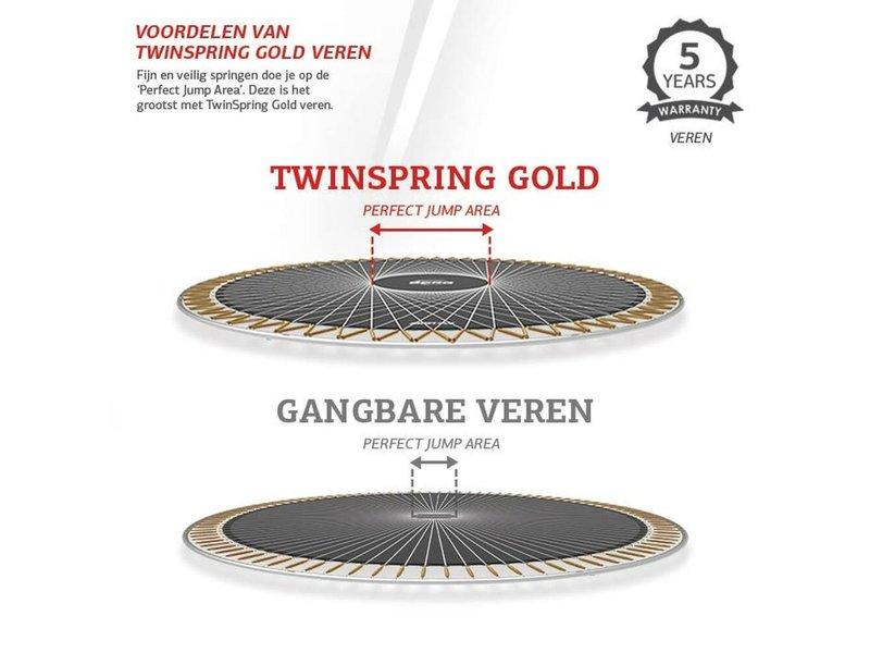 BERG Champion InGround Trampoline 430 Groen (incl. veiligheidsnet deluxe)