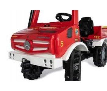 Rolly toys Unimog trapauto Brandweer