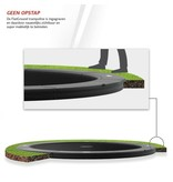 BERG Champion FlatGround Trampoline 380 Grijs (excl. veiligheidsnet)