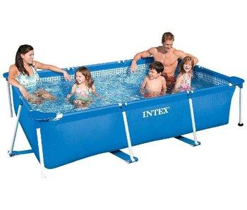 Intex metalen frame zwembad 220x150x60cm