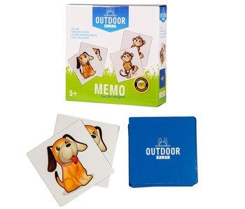 Outdoor Play Memo kaartspel