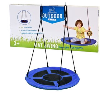 Outdoor Play Schommel mat 100 cm Blauw