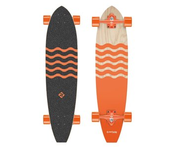 Street Surfing Longboard Kicktail Out 91cm
