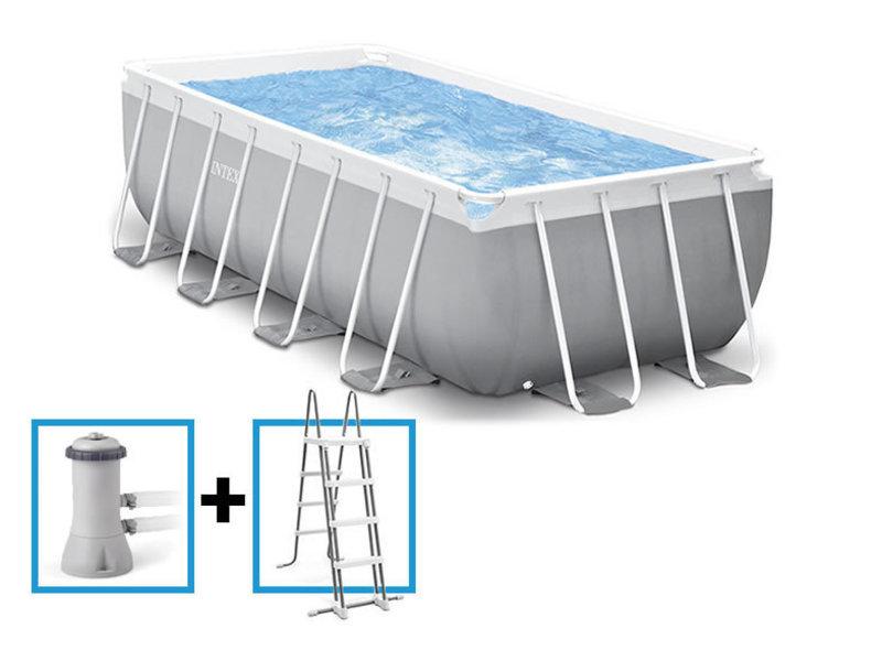 Intex Prism Frame Pool 400x200x100 cm