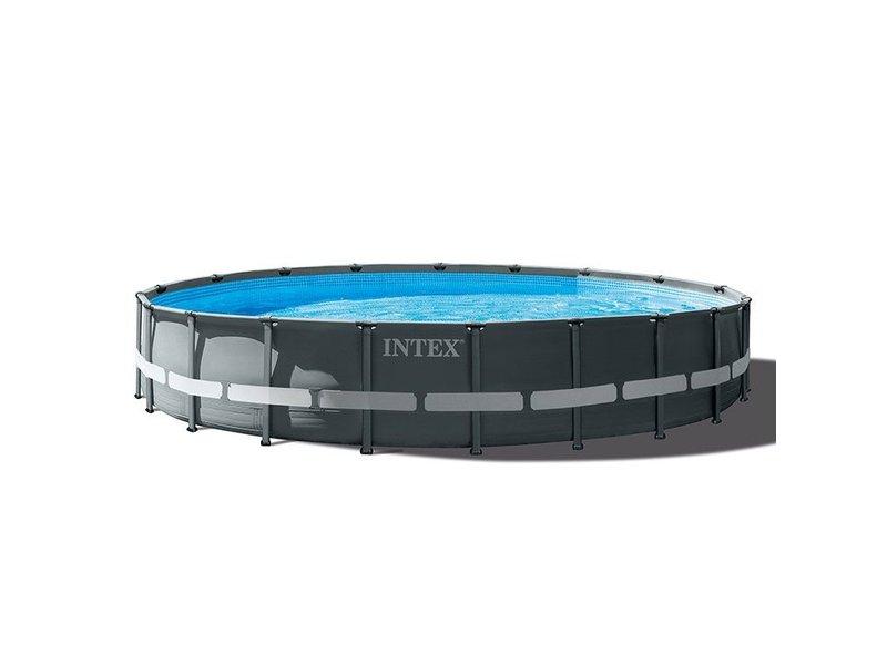 Intex Ultra XTR Frame Pool 610x122 cm + zandfilterpomp en acc.