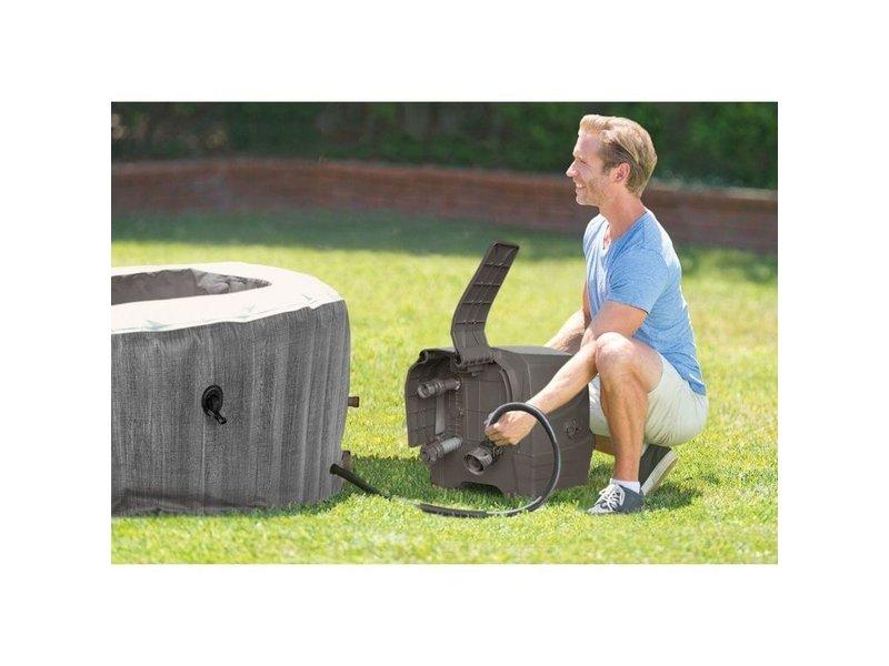 Intex PureSpa Greywood bubble massage 196x71cm
