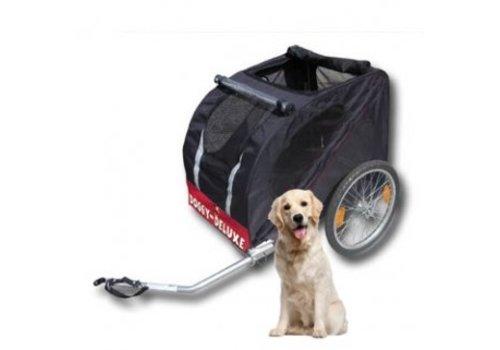 Hoes hondenfietskar Doggy Deluxe en Faster