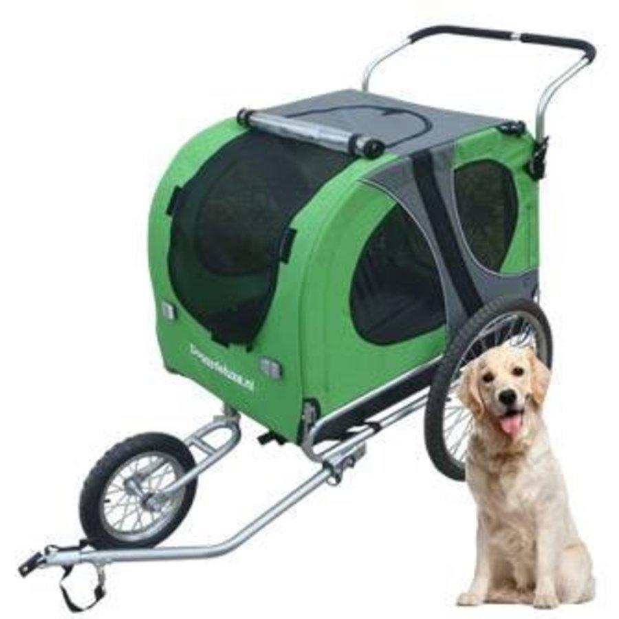Hoes hondenfietskar Doggy Deluxe