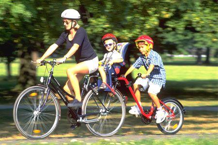 Aanhangfietsen en fietskarren