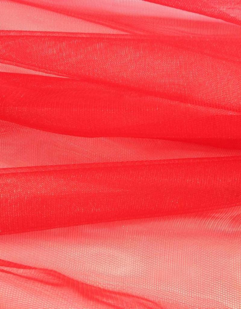 Tule - Glitter - Rood