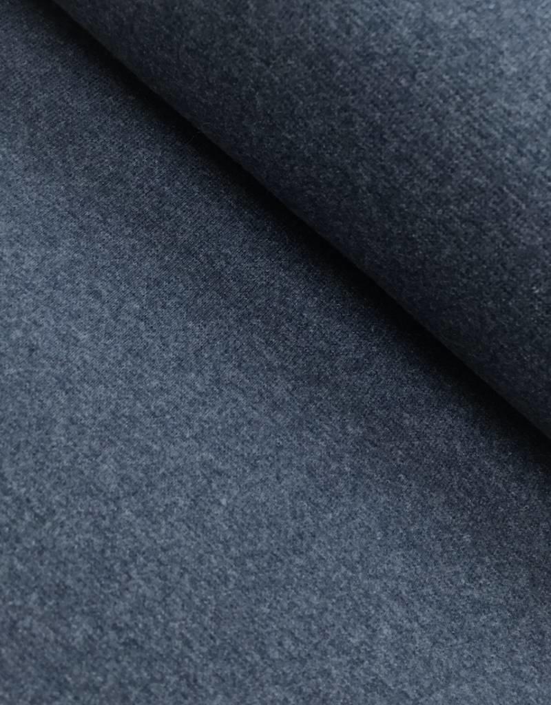 Boordstof - Jeansblauw Melee