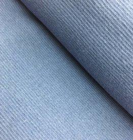 Boordstof - Jeansblauw