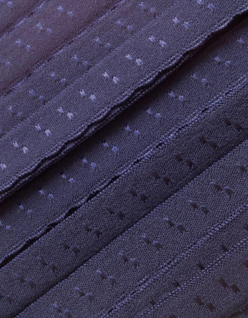 Elastische Sierbandje - Biais -  Marineblauw