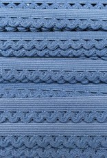 Elastische Sierlint - Jeansblauw