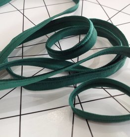 Elastische Paspel - Donker Groen