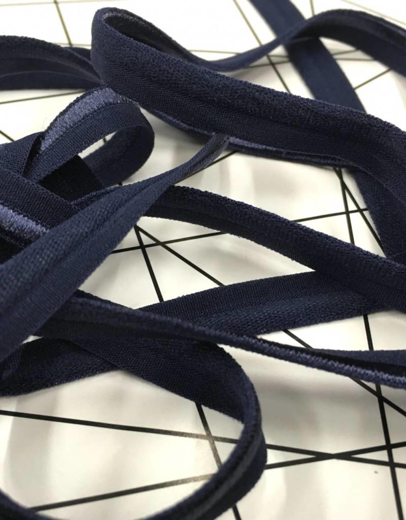 Elastische Paspel - Donker Blauw