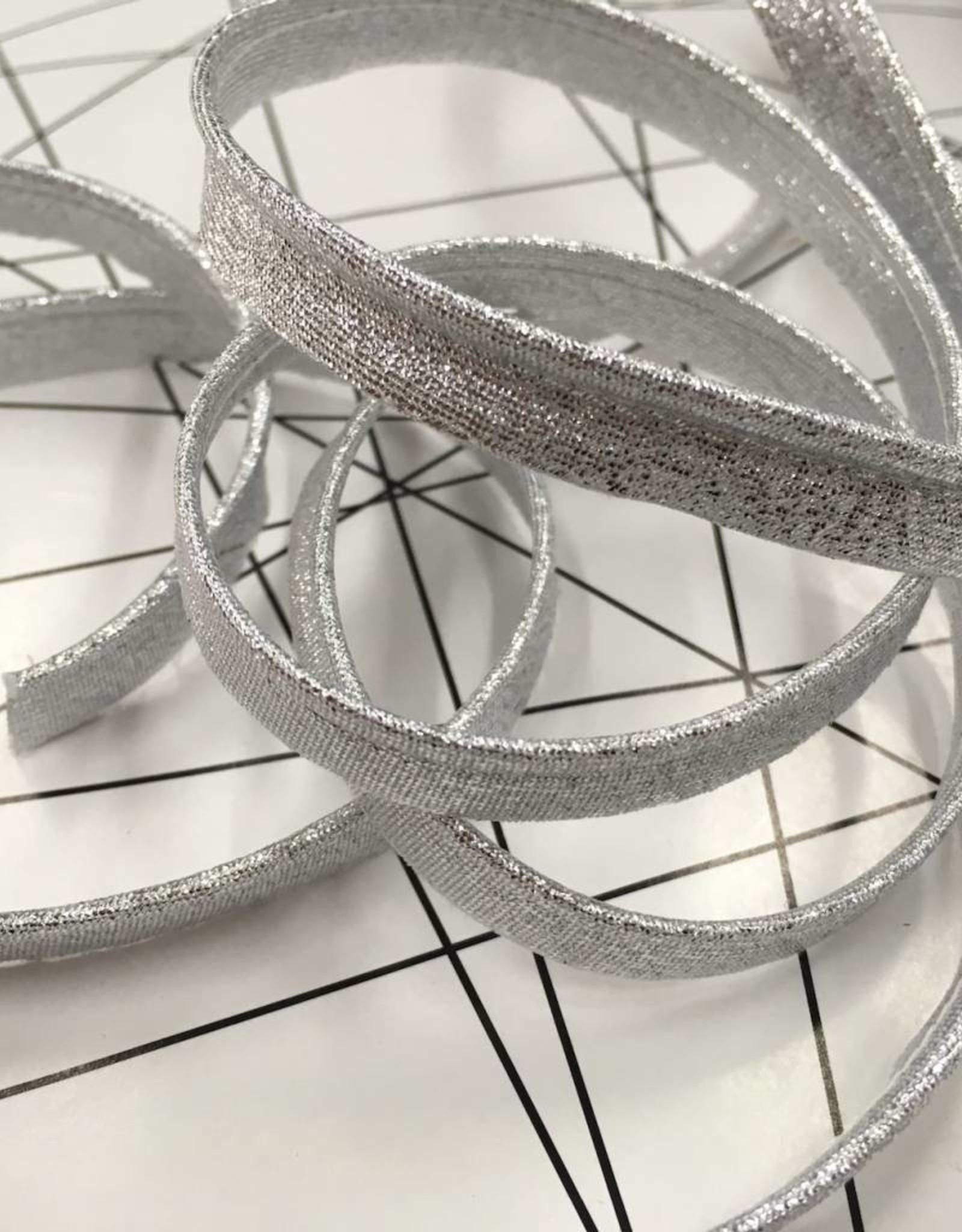 Glitter Paspel - Zilver