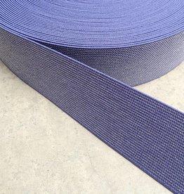 Glitter Elastiek  - Jeans Blauw