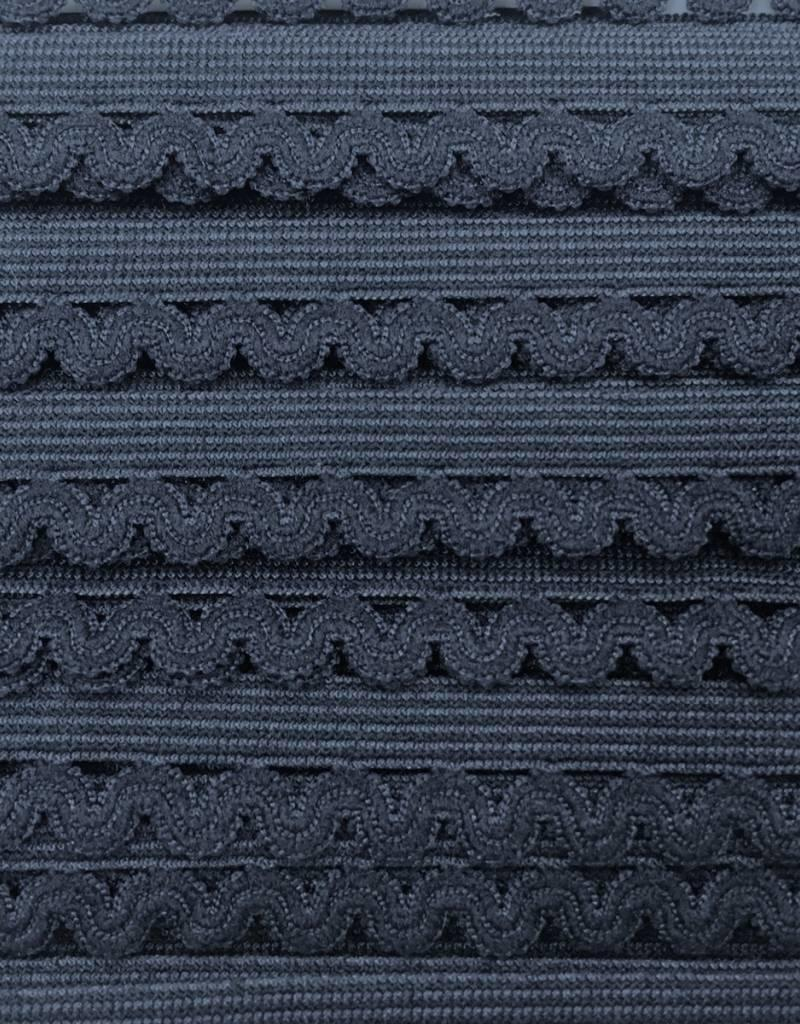 Elastische Sierlint - Marine Blauw