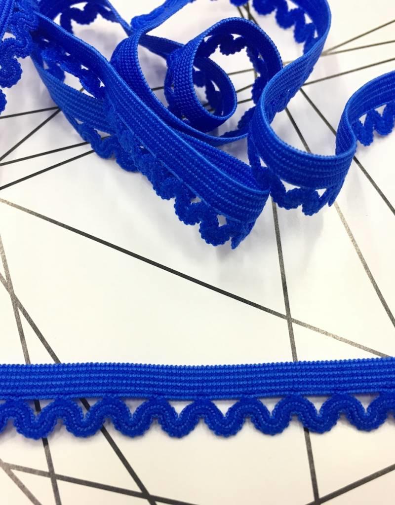 Elastische Sierlint - Blauw