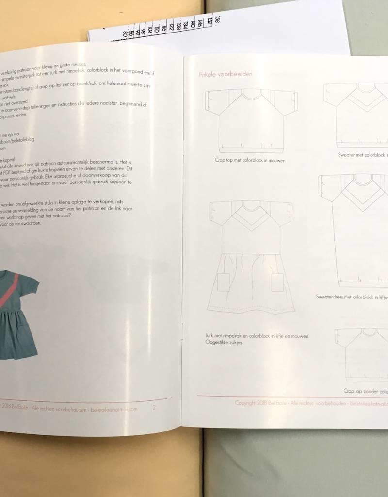Patroon - Isa – Sweater – Jurk – Top
