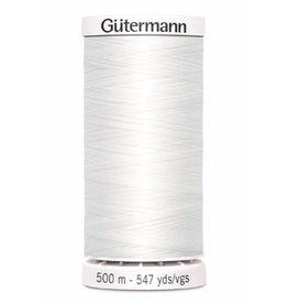 Gütermann Allesnaaigaren 500m - Wit