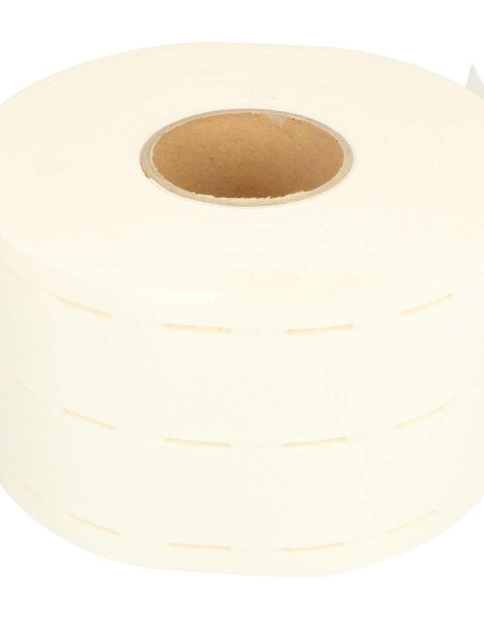 Vlieseline Tailleband versteviging - Wit - 35mm